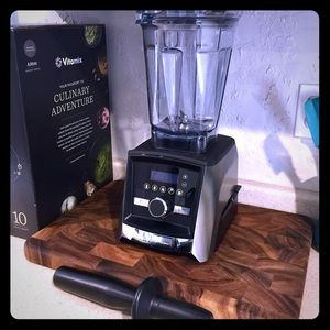 Vitamin A3500 Ascent Series Blender Brushed SS